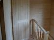 Дверь на мансарде бани
