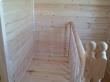 Перила лестницы на мансарде