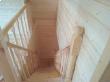 Спуск с мансарды по лестнице