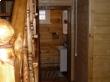 Стартовый столб деревянной лестницы