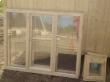 Трехстворчатое окно и фрамуга банная