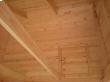 Подшивка потолка по крыше