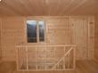 Строительство дома Д31 Прохор (6х6) заграждение лестничного проема на мансардном этаже