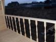 Строительство дома Д31 Прохор (6х6) перила балкона