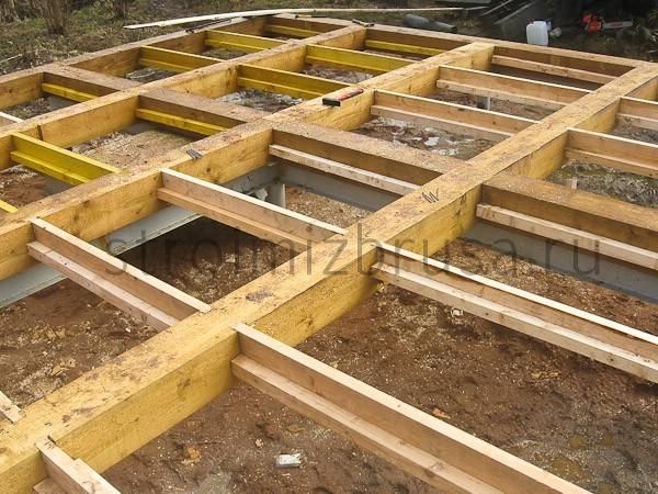 Строительство дома из бруса процесс