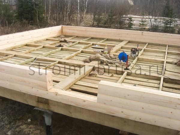 Строительство дома своими руками полы видео