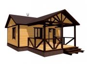 деревянная баня недорого